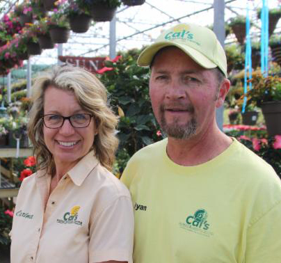 Updated greenhouse Cal's couple 2019